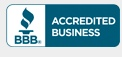 Accredited member of the Better Business Bureau