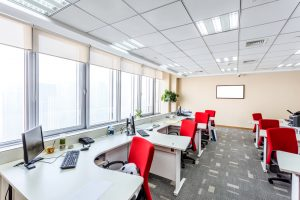 A janitorial service will keep your office looking good
