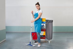 Increased Productivity with Professional Office Cleaning